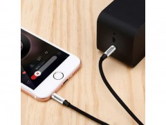 کابل انتقال صدا 3.5 میلی متری (AUX) بیسوس مدل Yiven Audio Cable M30 به طول 50 سانتی متر