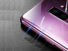 محافظ شیشه ای لنز دوربین بیسوس مدل Glass Film Lens مناسب برای سامسونگ Galaxy S9 Plus بسته 2 عددی