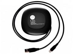 کابل قرقره ای تبدیل USB به  لایتنینگ بیسوس مدل Black Cable