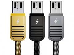 کابل تبدیل USB به MicroUSB ریمکس مدل RC-088m LINYO DATA CABLE بطول 1 متر