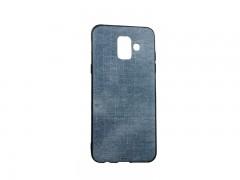 کاور پارچه ایی طرح جین مناسب برای گوشی موبایل سامسونگ A6