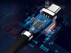 کابل شارژ و انتقال داده تایپ سی بیسوس مدل Zinc Alloy Cable بطول 1 متر