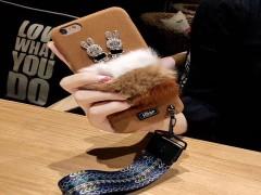 کاور HDSP مدل طرح خرگوش نگین دار مناسب برای گوشی آیفون 6 پلاس