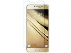 محافظ صفحه نمايش شيشه ای مدل Tempered مناسب برای گوشی موبايل سامسونگ Galaxy C7