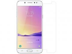 محافظ صفحه نمايش شيشه ای مدل Tempered مناسب برای گوشی موبايل سامسونگ Galaxy C8