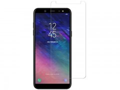 محافظ صفحه نمايش شيشه ای مدل Tempered مناسب برای گوشی موبايل سامسونگ Galaxy A6 2018
