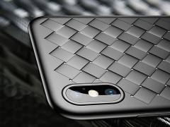 کاور طرح حصیری بیسوس مدل BV Weaving Case مناسب برای گوشی موبایل آیفون X