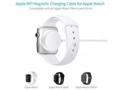 کابل شارژ مگنتی کوتتسی  مدل CS5162 مناسب برای ساعت هوشمند سری 1/2/3/4 اپل به طول 1 متر