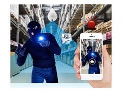 لامپ هوشمند و دوربین تحت شبکه 360Eye S مدل VR bulb Panoramic Wi-Fi camera