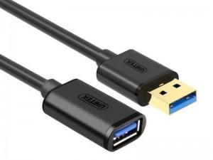 کابل افزایش طول USB 3.0 یونیتک مدل Y-C459GBK به طول 3 متر