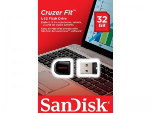 فلش مموری سن دیسک مدل Cruzer Fit CZ33 ظرفیت 32 گیگابایت