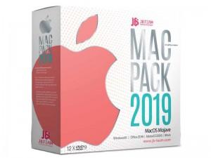 مجموعه نرم افزاری JB Mac Pack 2019 نشر جی بی تیم