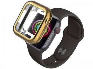 قاب محافظ اپل واچ سری 4 مدل Coteetci TPU Plating Case Apple Watch 40mm
