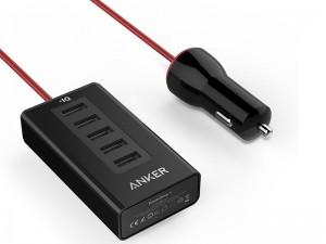 شارژر فندکی انکر مدل A2311 PowerDrive 5 Ports