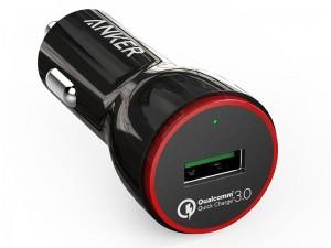 شارژر فندکی انکر مدل A2210 PowerDrive Plus