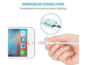 کابل تبدیل USB به لایتنینگ انکر مدل A8122 PowerLine به طول 1.8 متر