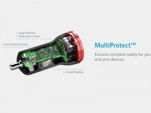 شارژر فندکی انکر مدل A2308011 PowerDrive Lite 2-Port USB