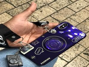 کاور مدل دوربین همراه با پاپ سوکت مناسب برای گوشی موبایل آیفون 7/8 پلاس