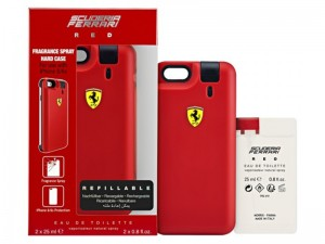 کاور فراری مدل Cover Red مناسب برای گوشی موبایل آیفون 6 همراه با عطر ادوتویلت مردانه با حجم 50 میلی لیتر