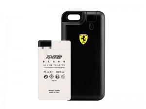 کاور فراری مدل Scuderia Black Cover مناسب برای گوشی موبایل آیفون 6 همراه با عطر ادوتویلت مردانه با حجم 50 میلی لیتر