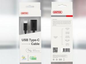 مبدل 3.0 USB به USB-C یونیتک مدل Y-C476BK به طول 1 متر