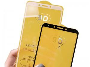 محافظ صفحه نمايش مدل 9D مناسب برای گوشی موبايل سامسونگ J6 Plus