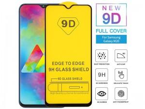 محافظ صفحه نمايش مدل 9D مناسب برای گوشی موبايل سامسونگ M10