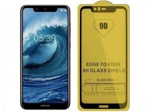 محافظ صفحه نمايش مدل 9D مناسب برای گوشی موبايل سامسونگ A9 2019