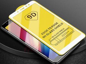 محافظ صفحه نمايش مدل 9D مناسب برای گوشی موبايل سامسونگ A6 Plus