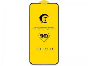 محافظ صفحه نمايش مدل 9D مناسب برای گوشی موبايل آیفون Xr