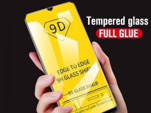 محافظ صفحه نمايش مدل 9D مناسب برای گوشی موبايل هوآوی Y9 2019