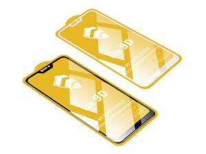 محافظ صفحه نمايش مدل 9D مناسب برای گوشی موبايل هوآوی Y6 2019