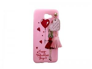 کاور ژله ایی مدل عروسکی آویزدار مناسب گوشی موبایل سامسونگj5 prime