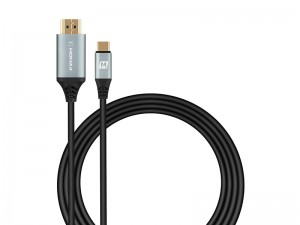 کابل تبدیل Type-C به HDMI مومکس مدل Go Link Type-C to HDMI (4K) Cable به طول 2 متر