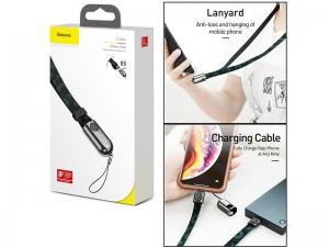 کابل تبدیل USB به لایتنینگ بیسوس مدل Gold Collar Series Data Cable USB For iP