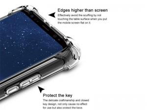 کاور ژله ای مدل Shockproof Corner TPU مناسب برای گوشی موبایل سامسونگ A6 Plus 2018