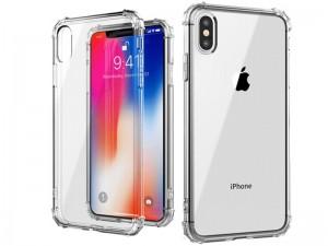 کاور ژله ای مدل Shockproof Corner TPU مناسب برای گوشی موبایل سامسونگ J6 Plus 2018