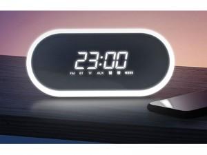 اسپیکر بلوتوثی ساعت دار بیسوس مدل Encok E09