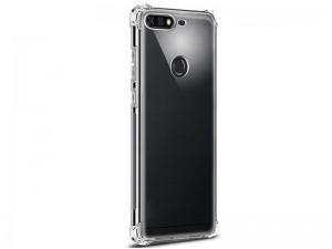 کاور ژله ای مدل Shockproof Corner TPU مناسب برای گوشی موبایل هوآوی Y7 2018
