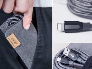 کابل تبدیل USB به Lightning انکر مدل A8122 PowerLine Plus به طول 1.8 متر