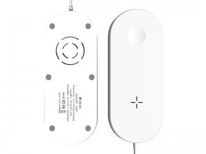 شارژر وایرلس دوکاره دیویا مدل EA087 2 in 1 wireless charger
