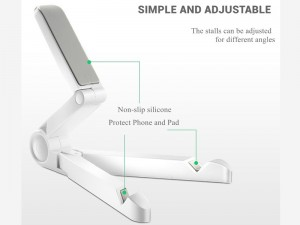 پایه نگهدارنده رومیزی تبلت و گوشی موبایل جوی روم مدل ZS120 Plate Bracket