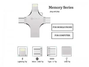 فلش مموری چند کاره کوتچی مدل 4in1 Memory Series ظرفیت 64 گیگابایت