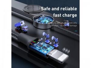 کابل سه سر و شارژر اپل واچ وایرلس بیسوس Star Ring 4in1 Wireless Charger