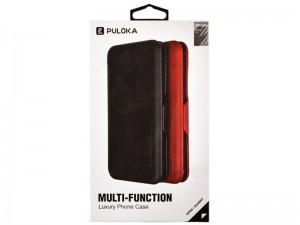 کیف چرمی Puloka Multi-Function مناسب برای گوشی موبایل آیفون XS Max