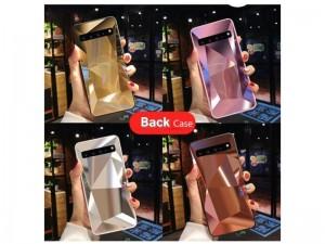 کاور طرح الماس آینهای مناسب برای گوشی موبایل سامسونگ S10 پلاس