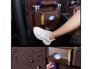 کیف چرمی نظم دهنده پشت صندلی خودرو