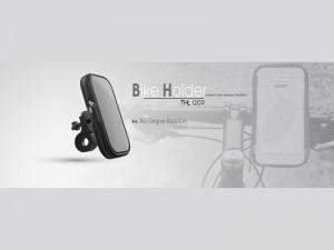 پایه نگهدارنده گوشی موبایل تسکو مدل THL 1209 مناسب برای موتور سیکلت و دوچرخه