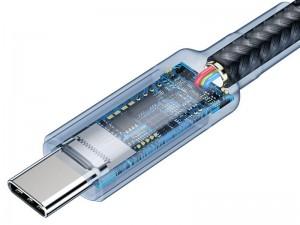 کابل دو سر تایپ سی بیسوس مدل CATKLF-SG1 Cafule PD3.1 100W QC3.0