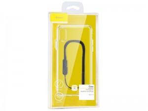 کاور بیسوس مدل Transparent key with Hang Rope مناسب برای گوشی موبایل آیفون XS Max